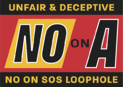 No on Prop A