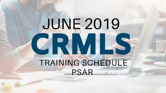 CRMLS for June 2019