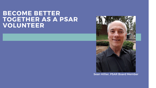 become a psar volunteer