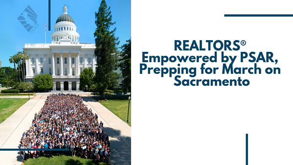 REALTOR march on Sacramento