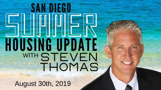 San Diego Summer Housing Update