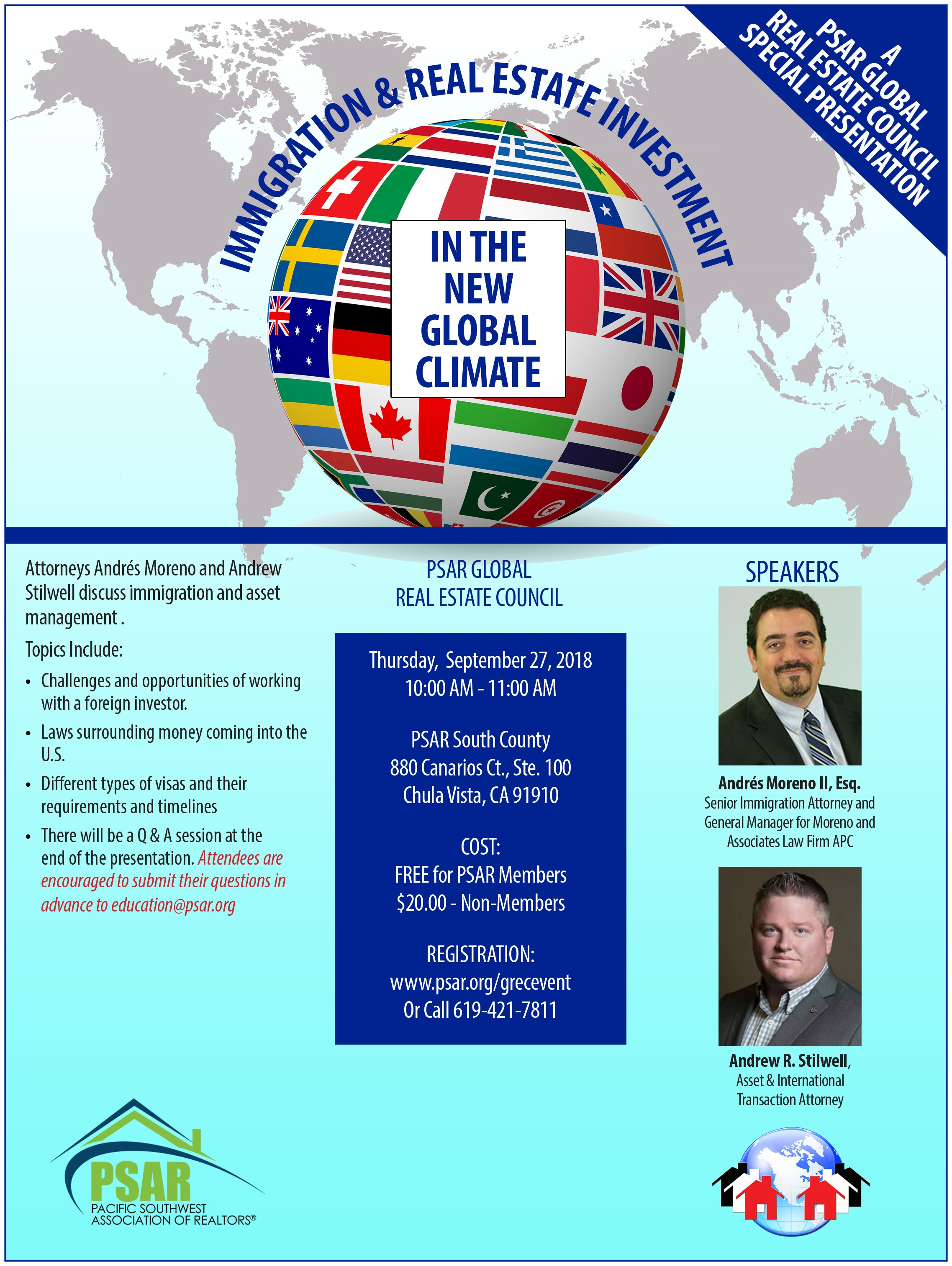 GRE Immigration & Real Estate Investment in global climate