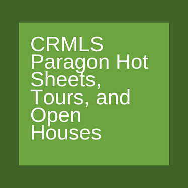 CRMLS paragon hot sheets