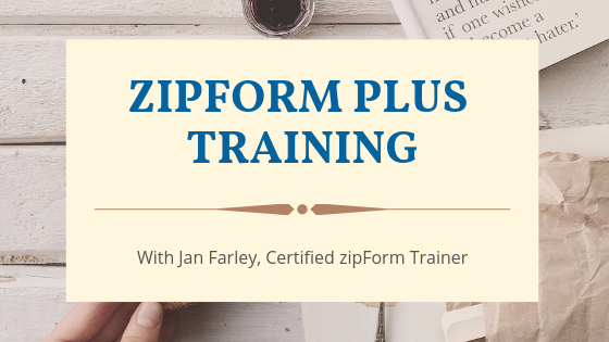 CAR zipform training