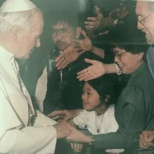Merrie with Pope John II