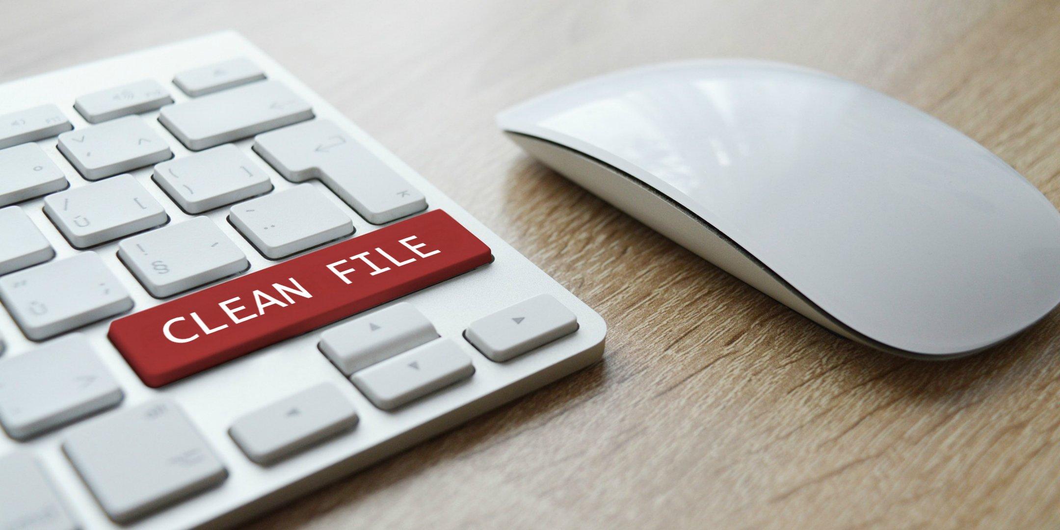 clean file