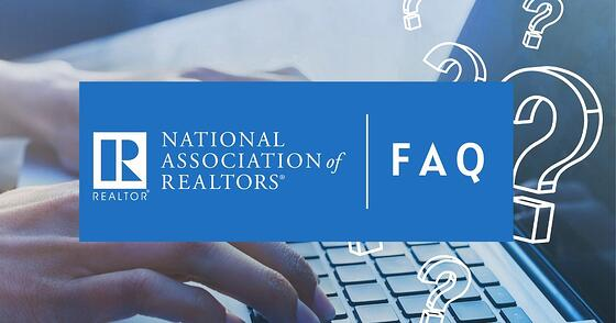 National Association of Realtors has FAQ