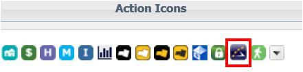 Showing Time Action Icon