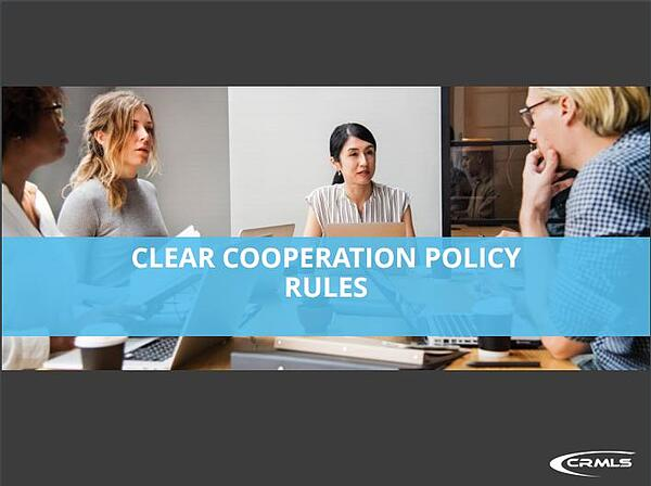 Clear Cooperation Rules